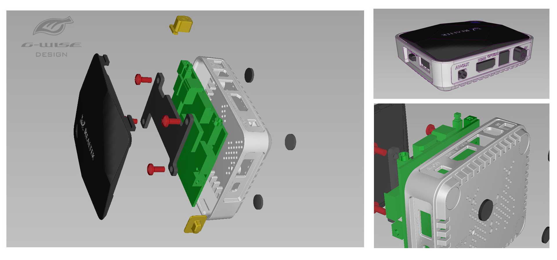 配合客户制作2d设计图及机构cad图,车用精品竞争激烈,好的独家设计