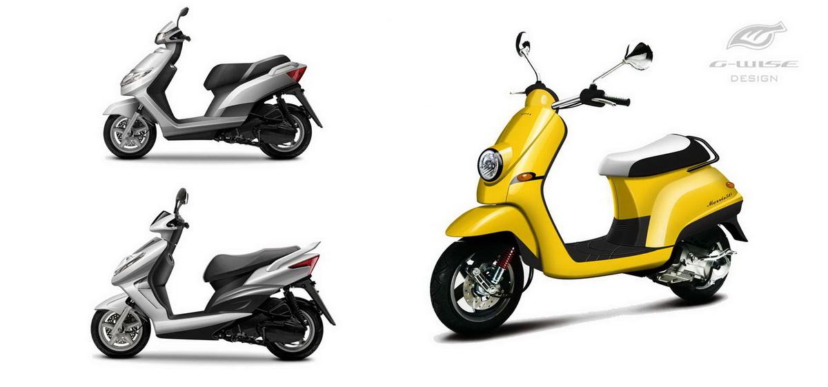 电动摩托车外观设计提案